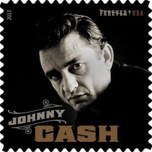 Johnny Cash Postage Stamp