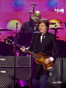 Abe Laboriel, Jr and Paul McCartney