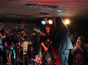Jimi Jamison with Chris Alburger