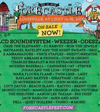 forecastle lineup