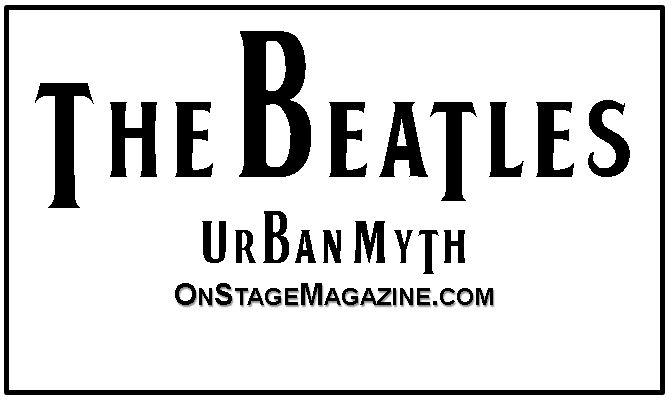 beatles urban myth