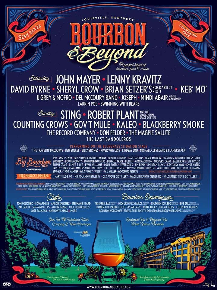 Bourbon & Beyond Lineup